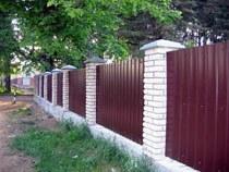 Строительство заборов, ограждений в Нижнем Новгороде и пригороде, строительство заборов, ограждений под ключ г.Нижний Новгород